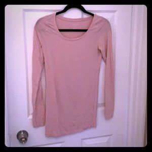 A Pea in the Pod Maternity Top— Light Pink